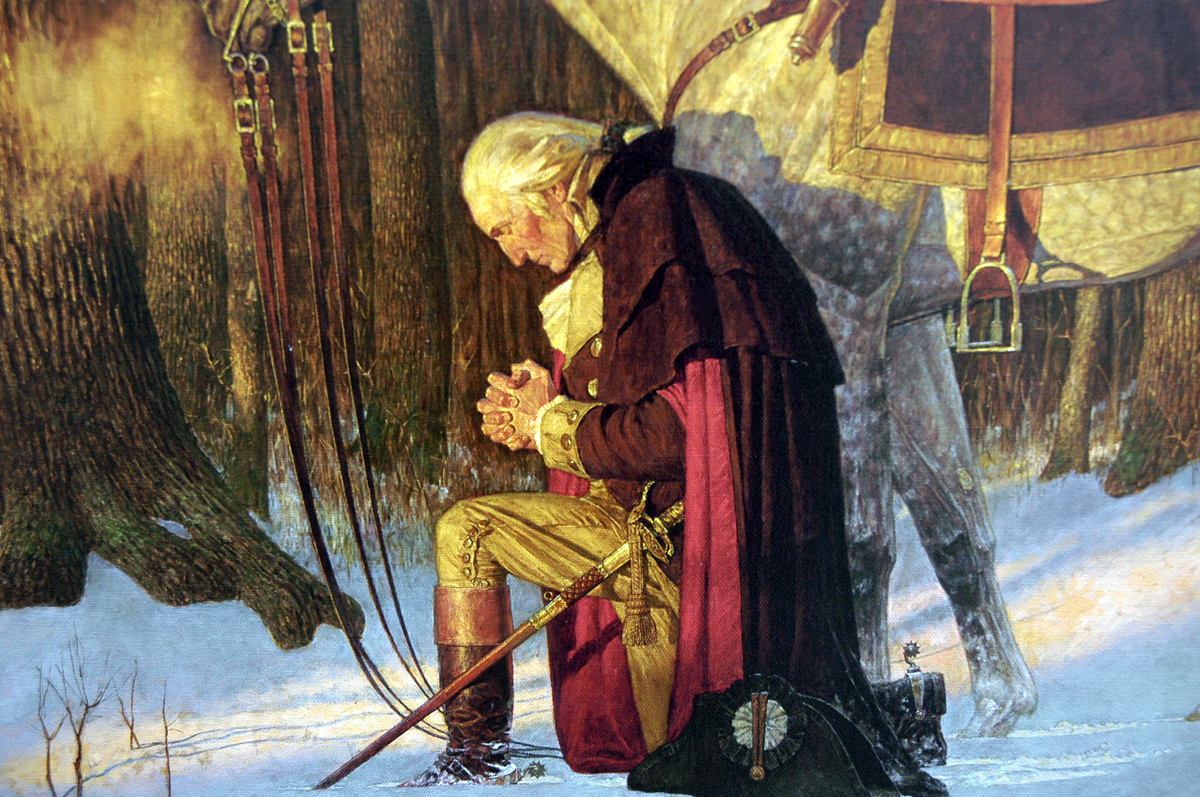 Prayer and Patriotism-Together from the Beginning